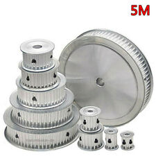5M Timing Belt Pulley 10T-100T Synchronous Wheel for 15mm Width Powerdrive Belts