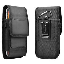 Cell Phone Vertical Pouch With Belt Clip Carrying Case Card Holder Holster Cover