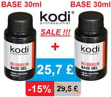 BASE + BASE 30ml. Kodi Professional Rubber. sale 15%! Gel nail LED/UV ORIGINAL!