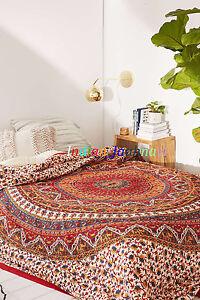 Art Cotton New Bohemian Star Mandala Tapestry Home Decor Throw Queen Size Wall