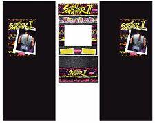 Full Set Side Art Arcade Cabinet Street Fighter II World Warrior Artwork Decals