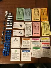 MONOPOLY GAME Replacement Pieces Money Houses Metal Dice Crafting Gag Gift Parts
