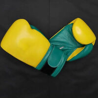 Custom Made Hook And Loop Boxing Gloves any logo R Name no winning grant twins