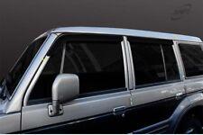 SAFE Smoke Black Wind Deflectors 4p compatible with 1998-2003 Hyundai Galloper