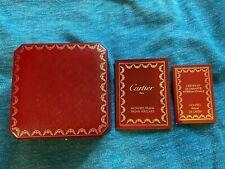Cartier Boîte Montre + Certificat Néc Pasha