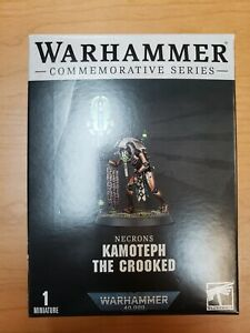 🔥 Warhammer 40K Kamoteph the Crooked Necron Cryptek - Ships in two weeks