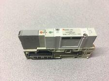 SMC SV2200-5FU SOLENOID AIR CONTROL VALVE ON MANIFOLD SEGMENT