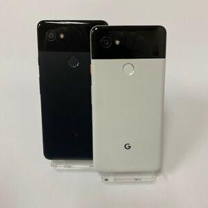 GOOGLE PIXEL 2 XL 128GB / 64GB - UNLOCKED Just Black / Black & White Smartphone