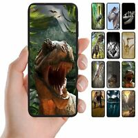 For Huawei Series - Dinosaur Theme Print Mobile Phone Back Case Cover #1