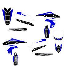 YZF450 2018 Retro Graphics Kit Blue Highlight FREE SHIPPING!!!
