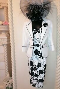 ALEXON STUNNING MOTHER OF THE BRIDE OUTFIT SIZE 14
