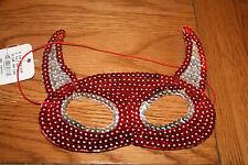 BNWT Halloween Maschera da Claire's Accessories. Corna da diavolo. RRP £ 5.50