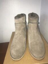 NIB UGG Australia Kasen Women's Winter Boot Mouse Grey Shearling Bootie - size 9
