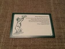 Boston Red Sox New York Mets / Baseball / A Question of Sport game card / 1987
