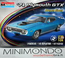 KIT 1971 PLYMOUTH GTX 1/24 REVELL MONOGRAM 4016 04016