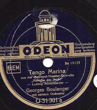 Georges Boulanger Orchester spielt Ludwig Schmidseder : Tango Marina