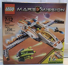 NEW Lego Space Mars Mission 7647 MX-41 Switch Fighter SEALED