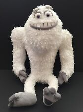"18"" Plush Monsters Inc Disney Store Pixar White Yeti Abominable Snowman"