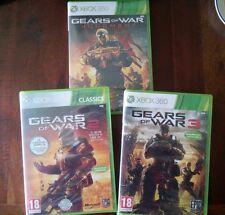 Gear of War 1 2 3 y Judgment XBOX 360