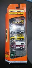 1997 Matchbox 5 Pack Exclusive Designs Gift Set Around Town 34386 Cars - NEW