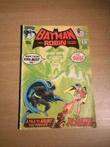 Batman with Robin Comic  #232   Ra Al Ghul 1st appearance!   DC   Neal Adams 171