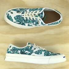 Converse Jack Purcell Signature CVO White Green Palm Tree Shoes 153150C Size 9.5