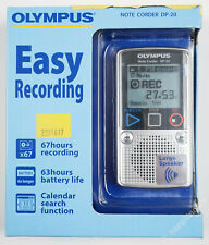 More details for olympus note corder dp-20 digital dictation machine pocket 1gb 67 hours [j6f74]