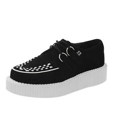 Black/White Sole Mondo Lo Creeper A8458 Ladies Size UK4/EU37