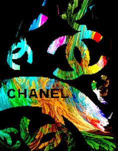 Chanel Canvas Art Print 16 x 20    #3508