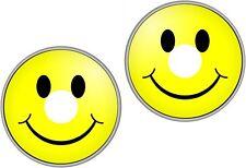 Wheelchair Spoke Guard Skins Smiley Face Mobility Sticker 1239