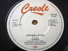 """Dana-Dream lover 7"""" vinyle"""