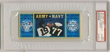 1977 ARMY NAVY football game Full ticket   PSA