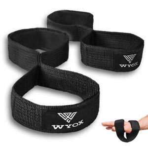 WYOX Weight Lifting Straps Gym Bar Fitness Bodybuilding Power Workout Wraps Grip