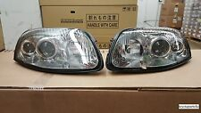 1994-1998 Toyota New Supra Euro Style Headlamps Pair (Glass Headlamps)