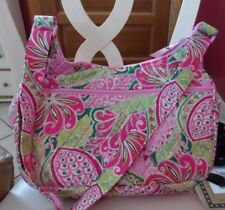 Vera Bradley Cargo sling in retired Pinwheel Pink pattern