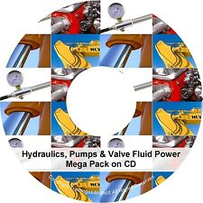 Hydraulic Pump Hydraulics Valve Fluid Power Book Oil PDF Manuals on CD