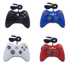 Xbox 360/360 Slim / 360 E Manette Filaire PC USB Jeu Manette de Jeu