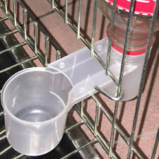 FR_ LC_ pratique EAU buveur Gamelle Mangeoire potable pour oiseau Pigeons PERROQ