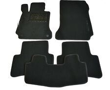 Fully Tailored Luxury Carpeted Car Floor Mats fit Mercedes C-class W204 2007-13