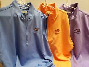 Donald Ross Men's XXL Stretch Golf Vest 2XL Half Zip Bighorn Logo Pick 1 color