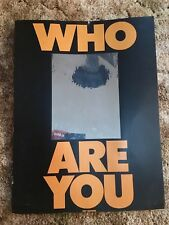 Who Are You Promotional Poster 1978.