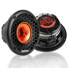 "2 Pack Memphis Audio 6.5"" Coaxial Speakers 250W Max Street Reference SRXP62WT"