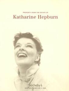 Sotheby's Catalogue Katharine Hepburn 2004 HB