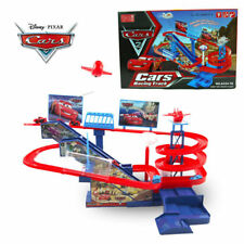 DISNEY CARS PIXAR MCQUEEN ELECTRONIC RACING TRACK KID CHILD TABLE BOARD GAME TOY