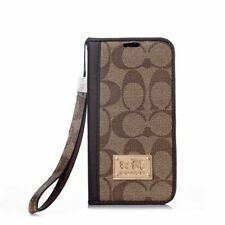 For Apple iphone 11 ProMax Samsung S10+ Leather Wallet Flip over Card Case Cover