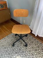 Rabami Stole Kevi Chair Mid-Century Modern 60's 70's Wood Laminate Desk Denmark
