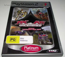MX vs ATV Unleashed PS2 (Platinum) PAL - featuring Chad Reed *No Manual*