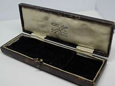 ANTIQUE JEWELLERY DISPLAY BOX. GREEN & SON, MEADOW ST. PRESTON.  (NCB)