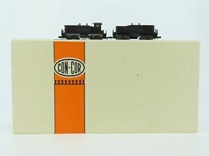 N Scale Con-Cor Undecortaed SW1500 Diesel and Calf Diesel Locomotive