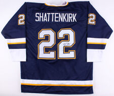 Kevin Shattenkirk Signed Blues Jersey (JSA Hologram) 14th Overall pick 07 draft